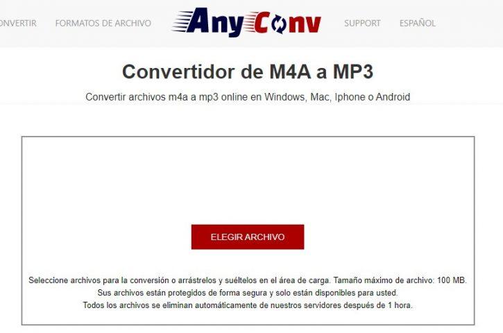 Cómo convertir M4A a MP3 en Mac